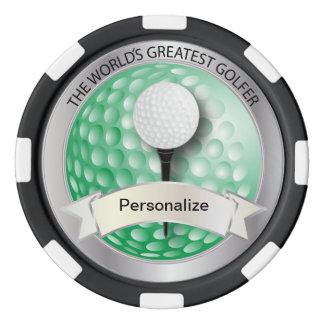 Lot De Jeton De Poker Le plus grand nom du golfeur | do-it-yourself du