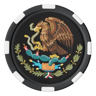 Lot De Jeton De Poker Manteau du Mexique de serpent et de cactus d'Eagle