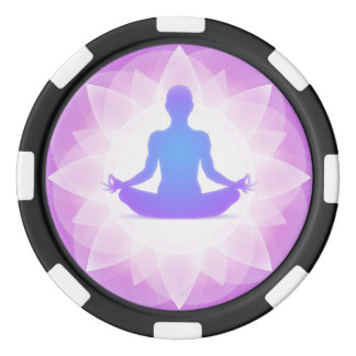 Lot De Jeton De Poker Méditation de yoga
