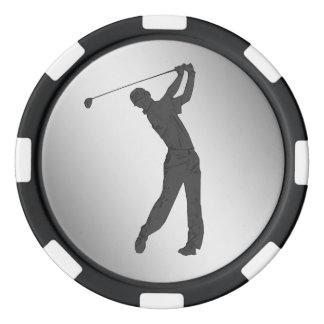 Lot De Jeton De Poker Partouzeur de golf personnalisable
