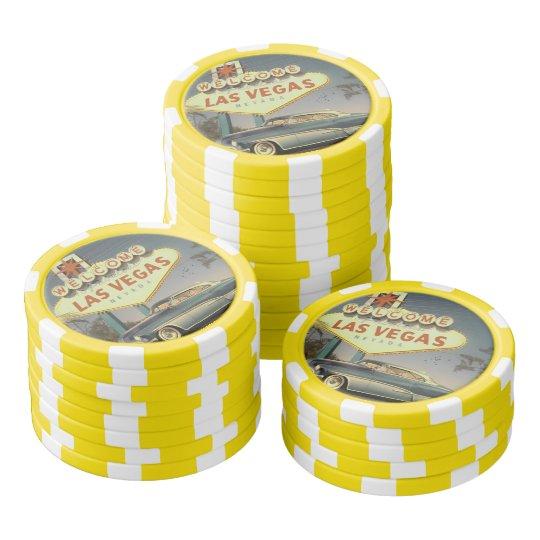 Lot De Jeton De Poker Welcome Las Vegas