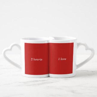 Lot De Mugs Amour