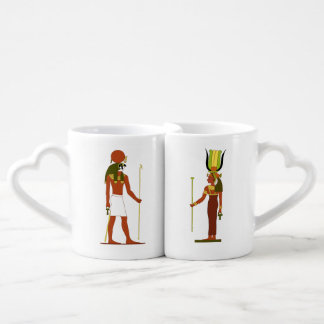 Lot De Mugs Dieu et déesse égyptiens