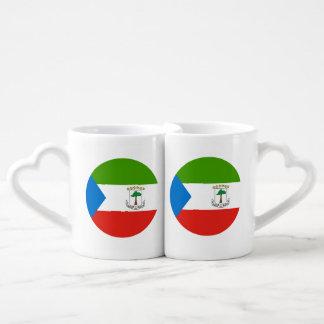 Lot De Mugs Drapeau de Guinée équatoriale