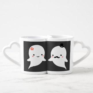 Lot De Mugs Ensemble fantôme mignon pour toujours personnalisé