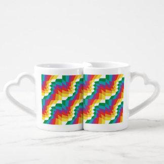 Lot De Mugs Fous un l'un à l'autre