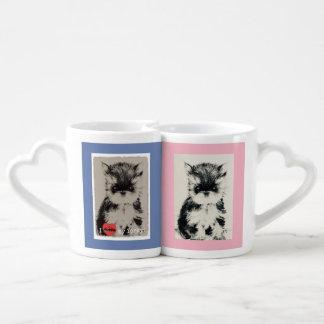 Lot De Mugs J'aime mon yorky