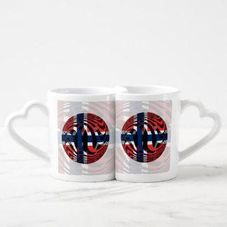 Lot De Mugs La Norvège #1