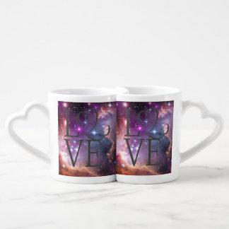 Lot De Mugs L'amour est dans le ciel