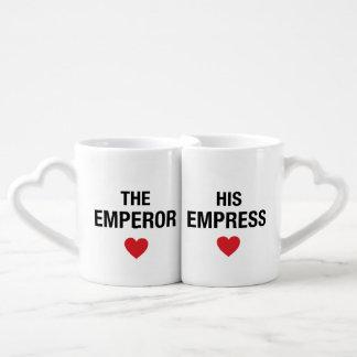Lot De Mugs Le couple attaque l'empereur et l'impératrice