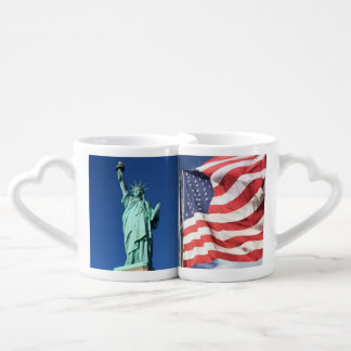 Lot De Mugs Liberté et drapeau