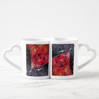 Lot De Mugs Open my Heart