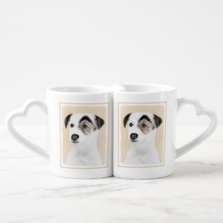 Lot De Mugs Pasteur Jack Russell Terrier