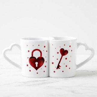 Lot De Mugs Vous êtes la clé à mon coeur