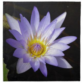 lotus bleu du Nil Serviette En Tissu