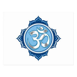 Lotus bleu OM Carte Postale
