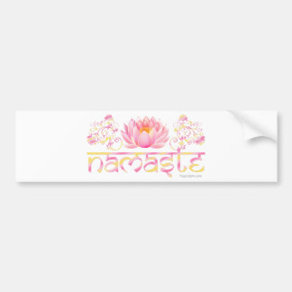 Lotus de Namaste nouveau Autocollant De Voiture