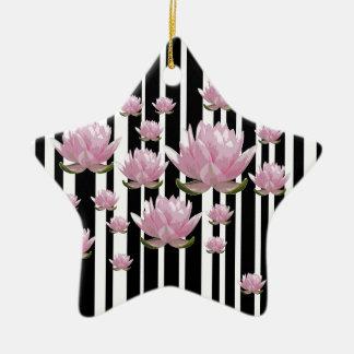 Lotus Ornement Étoile En Céramique