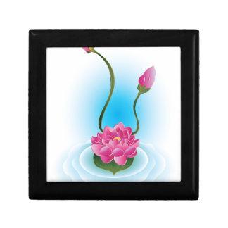 Lotus pourpre Flower2 Boîte À Souvenirs