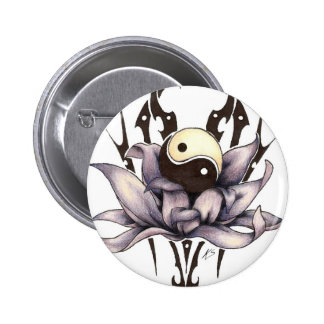 lotus tribal badge rond 5 cm