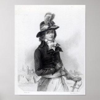 Louis Antoine de Saint-Juste Poster