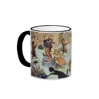 Louis blême - jardiniers de chat mug ringer