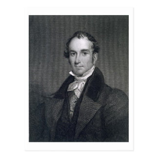 Louis McLane, gravé par Thomas Kelly (c.1795-c.1 Carte Postale