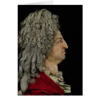 Louis XIV 1706 Carte De Vœux