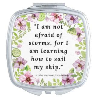 Louisa peut Alcott, petite citation de femmes Miroir De Voyage