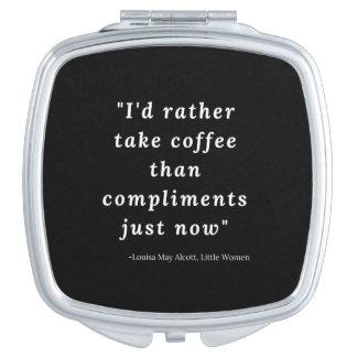 Louisa peut Alcott, petite citation de femmes Miroirs De Voyage