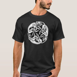 Loup celtique t-shirt