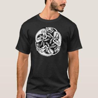 Loup celtique t-shirts