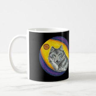 Loup curatif de chaman mug