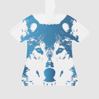 Loup de bleu glacier d'illustration