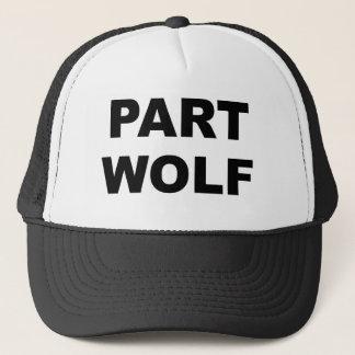 Loup de partie casquette