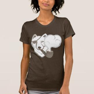 Loup de tabagisme t-shirt