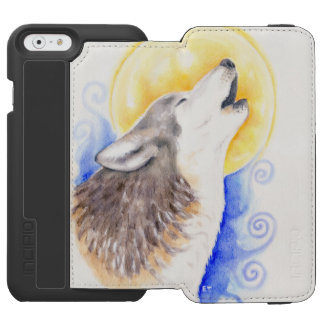 Loup d'hurlement coque-portefeuille iPhone 6 incipio watson™