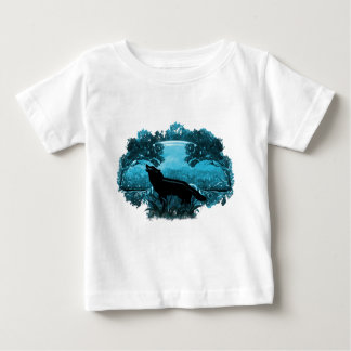 Loup en nature t-shirt