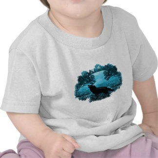 Loup en nature t-shirts