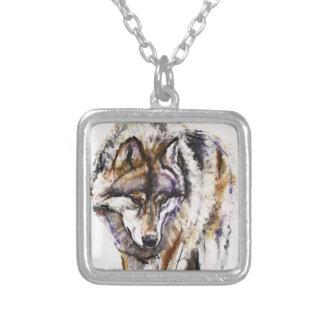Loup européen collier