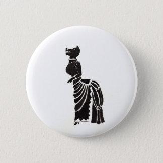 Loup-garou dans un costumé badges