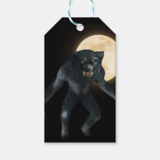 Loup-garou Étiquettes-cadeau