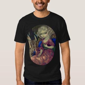 Loup-Garou : Loup rococo gothique de CHEMISE de T-shirt