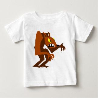Loup-garou T-shirt Pour Bébé