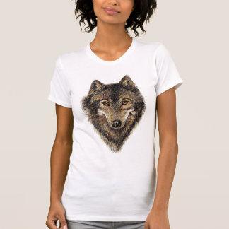 Loup, loups, animal sauvage, nature, t-shirts
