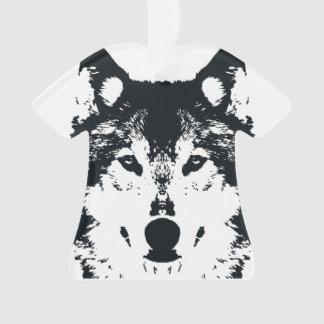 Loup noir d'illustration