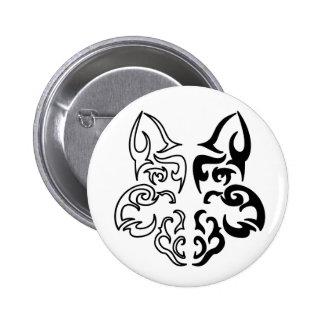 Loup tribal badge