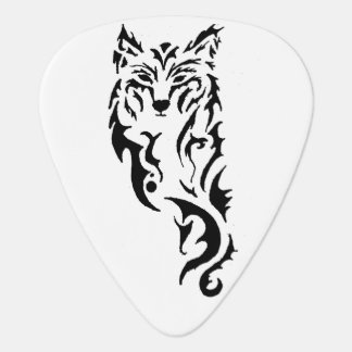 Loup tribal onglet de guitare