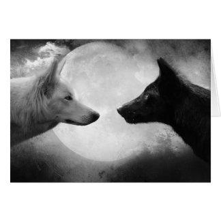 Loups Carte De Vœux