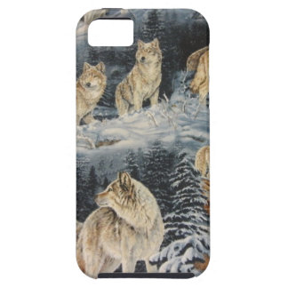 Loups d hiver coque Case-Mate iPhone 5